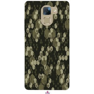 Snooky Printed 972,Camouflage Camo patterns Mobile Back Cover of Huawei Honor 7 - Multi