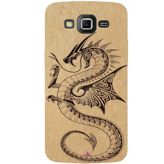 Snooky Printed 978,Chinies Dragon Mobile Back Cover of Samsung Galaxy Grand 2 - Multi