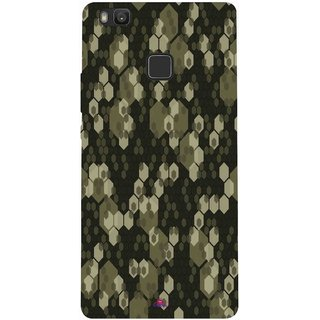 Snooky Printed 972,Camouflage Camo patterns Mobile Back Cover of Hwi Hnr 8 Smrt - Multi