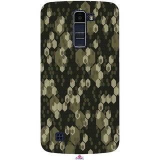 Snooky Printed 972,Camouflage Camo patterns Mobile Back Cover of LG K10 - Multi