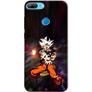 Snooky Printed 1007,Goku Mobile Back Cover of Huawei Honor 9 Lite - Multi