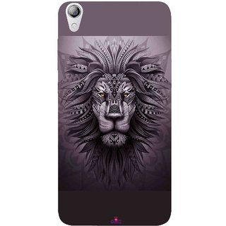 Snooky Printed 1032,lion zion Mobile Back Cover of Lenovo S850 - Multi