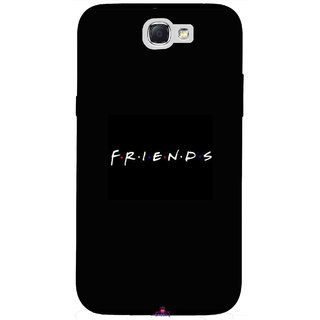Snooky Printed 998,Friends Mobile Back Cover of Samsung Galaxy Note 2 - Multi