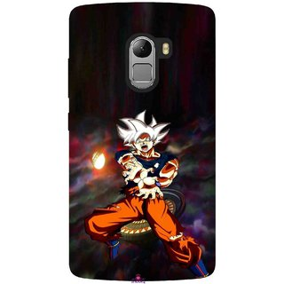 Snooky Printed 1007,Goku Mobile Back Cover of Lenovo K4 Note - Multi