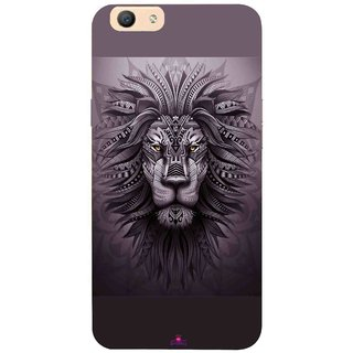 Snooky Printed 1032,lion zion Mobile Back Cover of Oppo F1s - Multi