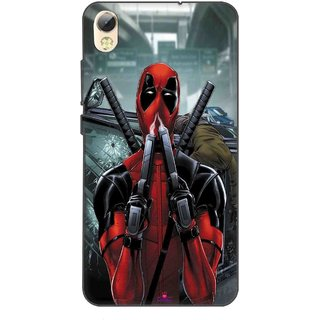 Snooky Printed 982,Deadpool Mobile Back Cover of Tecno I5  - Multi