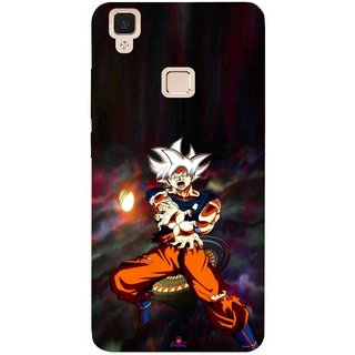 Snooky Printed 1007,Goku Mobile Back Cover of Vivo V3 Max - Multi