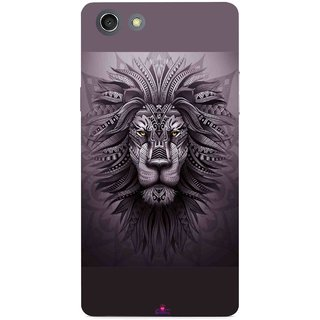 Snooky Printed 1032,lion zion Mobile Back Cover of Opo Neo 7 - Multi