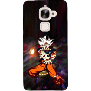Snooky Printed 1007,Goku Mobile Back Cover of Letv Le 2 - Multi