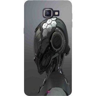 Snooky Printed 999,Futuristic Helmet Mobile Back Cover of Samsung Galaxy A9 Pro - Multi