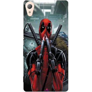 Snooky Printed 982,Deadpool Mobile Back Cover of Sony Xperia Z4 - Multi