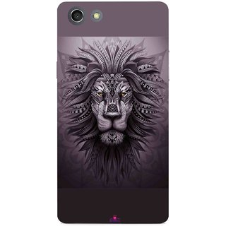 Snooky Printed 1032,lion zion Mobile Back Cover of Oppo A33T - Multi