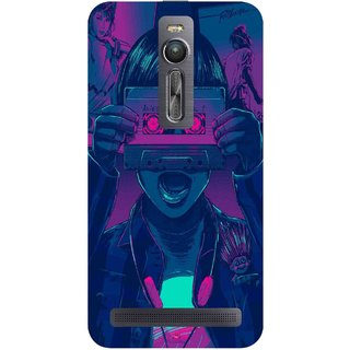 Snooky Printed 1009,Guardians of the Galaxy Awesome Mix Vol. 1 Mobile Back Cover of Asus Zenfone 2 - Multi