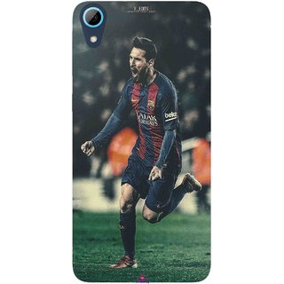 Snooky Printed 1033,lionel messi f edits Mobile Back Cover of HTC Desire 826 - Multi