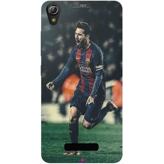 Snooky Printed 1033,lionel messi f edits Mobile Back Cover of Gionee Pioneer P6 - Multi