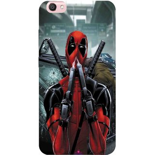 Snooky Printed 982,Deadpool Mobile Back Cover of Vivo V5 - Multi