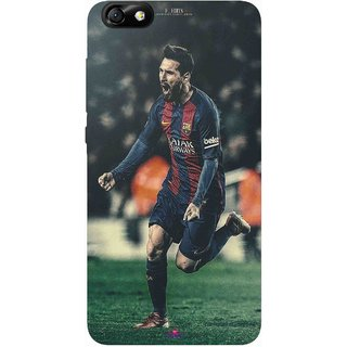 Snooky Printed 1033,lionel messi f edits Mobile Back Cover of Huawei Honor 4X - Multi