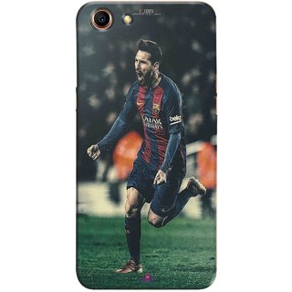 Snooky Printed 1033,lionel messi f edits Mobile Back Cover of Oppo A83 - Multi