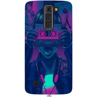 Snooky Printed 1009,Guardians of the Galaxy Awesome Mix Vol. 1 Mobile Back Cover of LG K7 - Multi