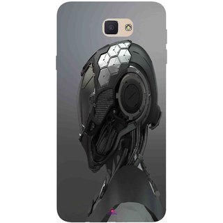 Snooky Printed 999,Futuristic Helmet Mobile Back Cover of Samsung Galaxy J7 Prime - Multi