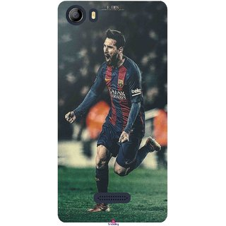 Snooky Printed 1033,lionel messi f edits Mobile Back Cover of Micromax Canvas 5 E481 - Multi