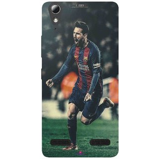Snooky Printed 1033,lionel messi f edits Mobile Back Cover of Lenovo A6010 - Multi