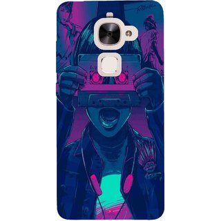 Snooky Printed 1009,Guardians of the Galaxy Awesome Mix Vol. 1 Mobile Back Cover of Letv Le 2 - Multi