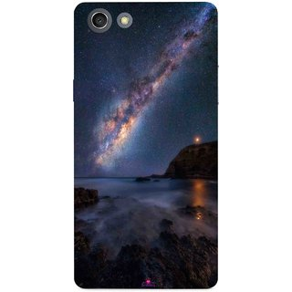 Snooky Printed 987,emu in the milky way Mobile Back Cover of Oppo A33T - Multi