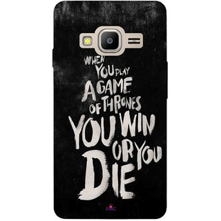 Snooky Printed 1003,game of thrones win or die Mobile Back Cover of Samsung Z2 - Multi