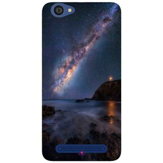 Snooky Printed 987,emu in the milky way Mobile Back Cover of LYF Flame 1 - Multi