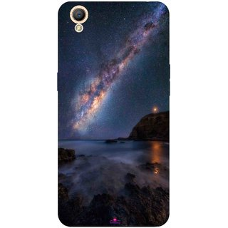 Snooky Printed 987,emu in the milky way Mobile Back Cover of Oppo A37 - Multi