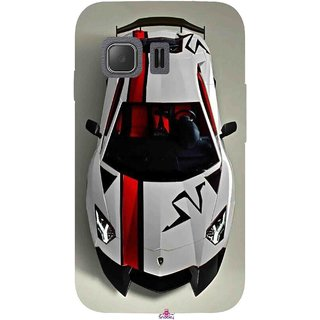 Snooky Printed 1091,sports cars and bikes Mobile Back Cover of Samsung Galaxy Young 2 - Multi