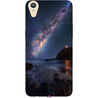 Snooky Printed 987,emu in the milky way Mobile Back Cover of Oppo F1 Plus - Multi