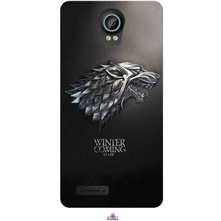 Snooky Printed 1004,game of thrones winter Mobile Back Cover of Intex Aqua Life 2 - Multi