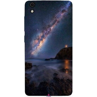 Snooky Printed 987,emu in the milky way Mobile Back Cover of LYF Water 5 - Multi