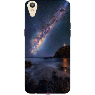 Snooky Printed 987,emu in the milky way Mobile Back Cover of Oppo R9 - Multi