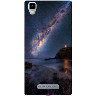 Snooky Printed 987,emu in the milky way Mobile Back Cover of Panasonic Eluga A2 - Multi