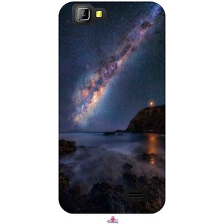 Snooky Printed 987,emu in the milky way Mobile Back Cover of LYF Wind 5 - Multi