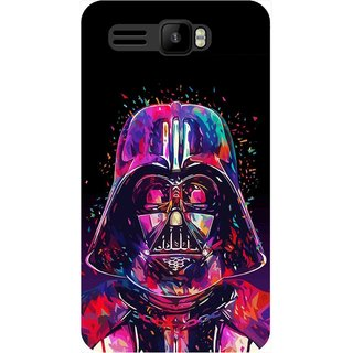 Snooky Printed 1092,Star War soldier Mobile Back Cover of Intex Aqua R3 - Multi