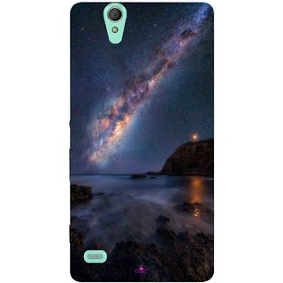 Snooky Printed 987,emu in the milky way Mobile Back Cover of Sony Xperia C4 - Multi