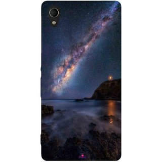 Snooky Printed 987,emu in the milky way Mobile Back Cover of Sony Xperia M4 - Multi