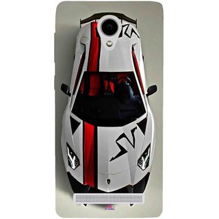 Snooky Printed 1091,sports cars and bikes Mobile Back Cover of Vivo Y28 - Multi