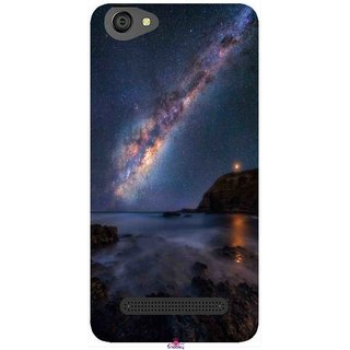 Snooky Printed 987,emu in the milky way Mobile Back Cover of LYF Wind 6 - Multi