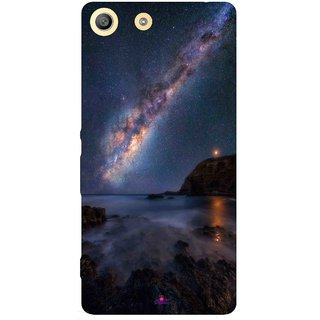 Snooky Printed 987,emu in the milky way Mobile Back Cover of Sony Xperia M5 - Multi