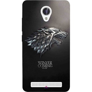 Snooky Printed 1004,game of thrones winter Mobile Back Cover of Lava Iris Fuel F1 - Multi