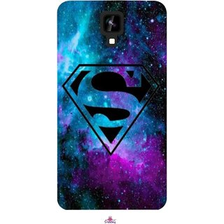 Snooky Printed 1099,Superman Fondos Mobile Back Cover of Intex Aqua Y2 1G - Multi