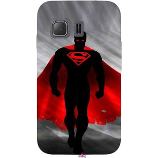 Snooky Printed 1098,Super Man Mobile Back Cover of Samsung Galaxy Young 2 - Multi