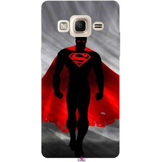 Snooky Printed 1098,Super Man Mobile Back Cover of Samsung Tizen Z3 - Multi