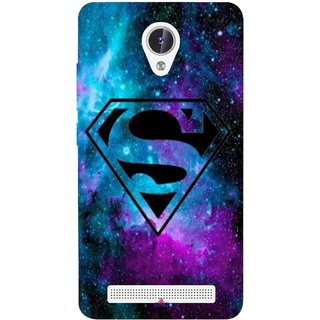 Snooky Printed 1099,Superman Fondos Mobile Back Cover of Lava Iris Fuel F1 - Multi