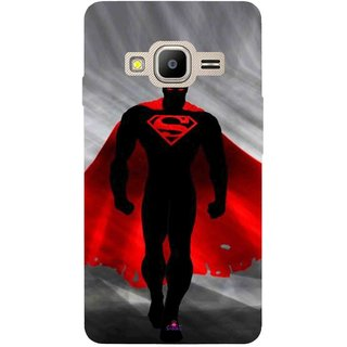 Snooky Printed 1098,Super Man Mobile Back Cover of Samsung Z2 - Multi